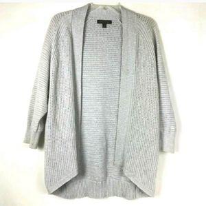 Banana Republic Gray Open Front Cardigan Sweater
